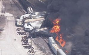 Evacuations ordered after Train Derails in Dupo, Illinois