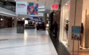 A SUV Just Drove Into A Mall In Chicago!