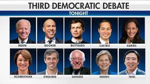 TONIGHT: Third Democratic Debate