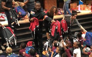 Meek Mill Donates More Than 500 Backpacks To His Former…