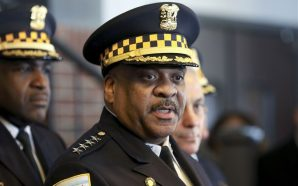 "Chicago police Superintendent Eddie Johnson admitted that he had ""a…"