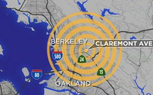 4.5 magnitude earthquake shakes California Bay Area Monday Night