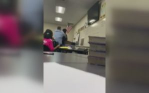 Video allegedly shows California High School teacher choking student