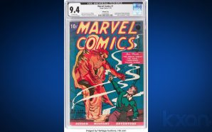 First Marvel Comics issue sells in Texas for $1.26 million…