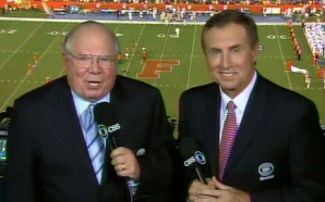 CBS' Gary Danielson slammed for laughing while photographer is stretchered…