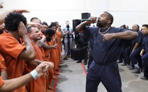 Kanye Took Sunday Service To The Houston Jail Today! Inmates…