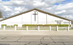 Church cleaning woman stabs two people in the head with…
