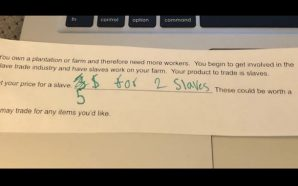 Missouri teacher asks students to 'set your price' for slaves…
