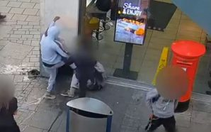 This Is Horrible! Teens Caught Beating A Homeless Man Sitting…