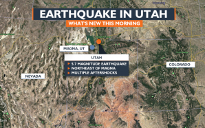 The Biggest Earthquake In Decades Has Hit Utah 5.7 Magnitude