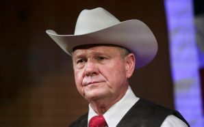 Former chief justice in Alabama and scandal-ridden Senate candidate Roy…