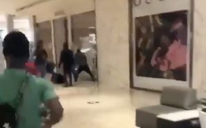 Looting at Atlanta's Gucci Store, Lenox Square And Phillips Plaza