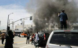 Los Angeles reels from looting and arrests that the city…