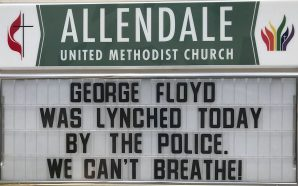 White Pastor Calls Minnesota Police Action A lynching on the…