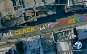 "A Huge Protest Happening In Hollywood Today ""All Black Lives…"