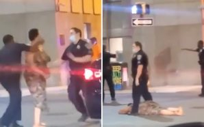 Baltimore Police Officer Knocks Out Woman … She Smacked Fellow…