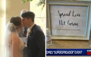 Bride, Groom And Half The Guest Have Tested Positive For…