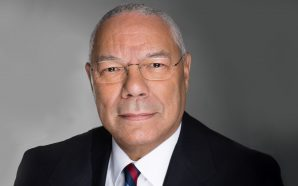 Colin Powell, military leader and first Black US secretary of…