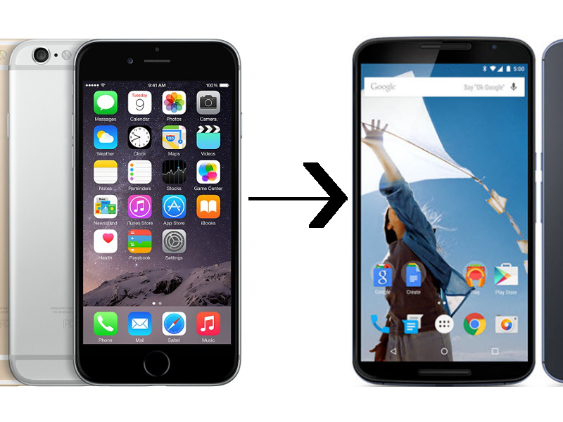 switching from iphone to android switching from android to iphone steps here joy105 18049
