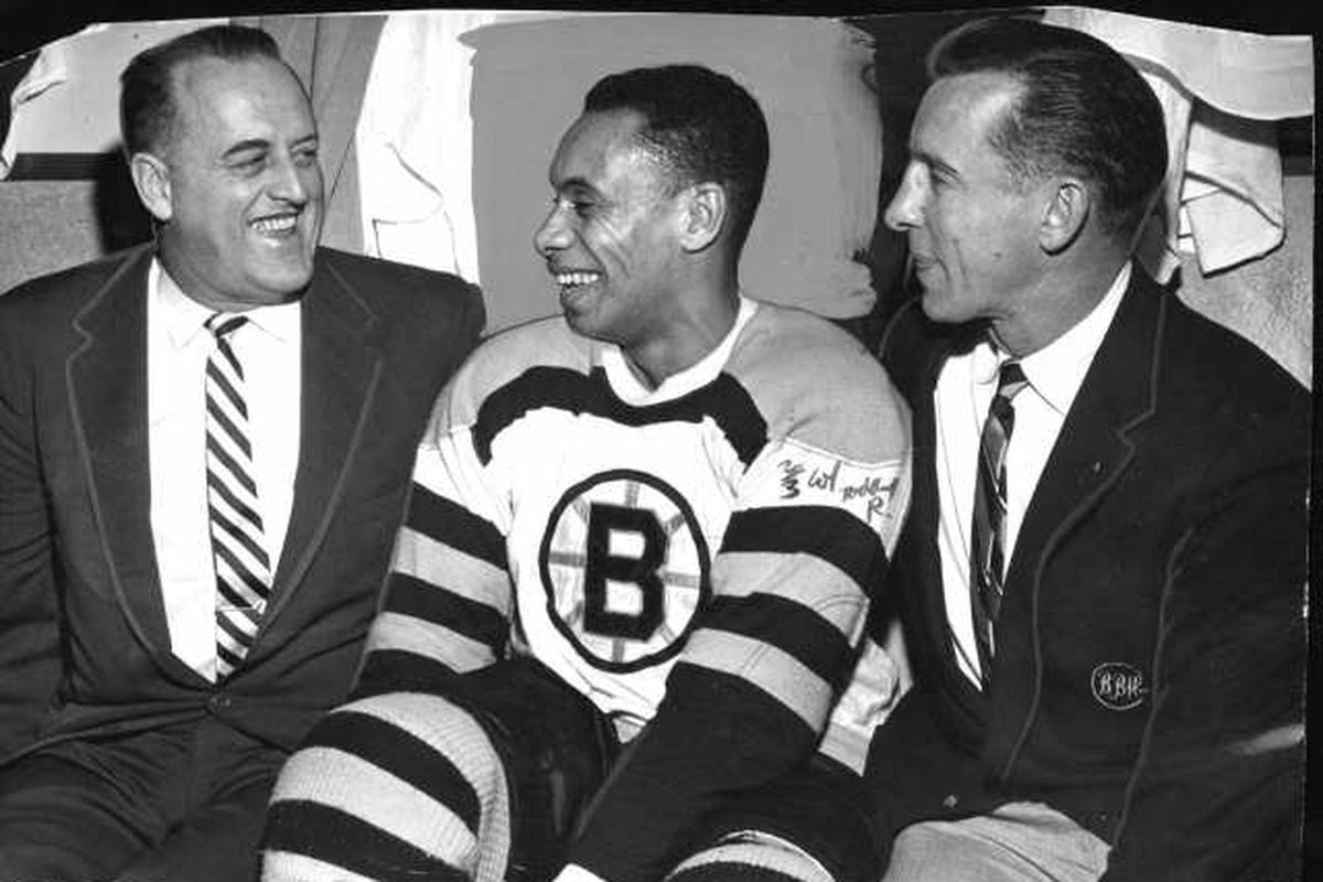 First Black NHL Player To Be Inducted Into Hockey Hall Of ...